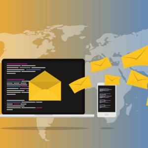Mail Attacke Spam Virus