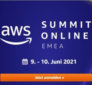 AWS Summit online für die Cloud-Community
